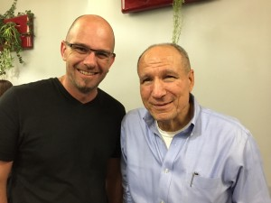 Yohann AUDOUIN (Papa d'Aydan) et le Dr Vince Carbone (BCBA-D)
