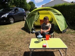 Aydan en toile de tente