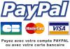 Paiement CB et Paypal
