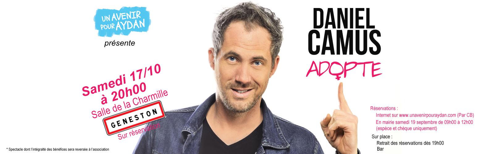 Spectacle Humour Daniel Camus Adopte Geneston