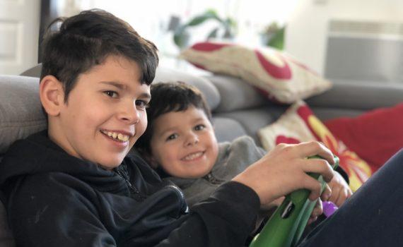 Liam et Aydan